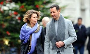 Bashar al-Assad and his wife Asma