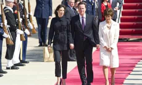 David Cameron, Samantha Cameron, Capricia Marshall