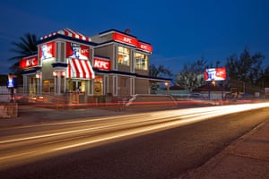 Unusual chain restaurants: Fast food restaurant KFC Barbados