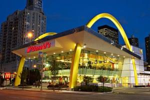 Unusual chain restaurants: McDonald's Chicago