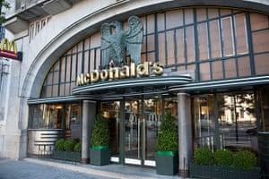 Unusual chain restaurants: Mc Donald's in Porto, Portugal