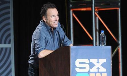 SXSW Keynote: Bruce Springsteen