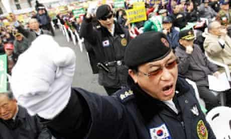 South Korean war veterans
