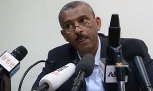Shimeles Kemal speaks in Addis Ababa