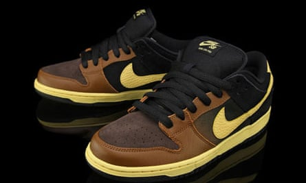Nike's ill-named 'Black and Tan' trainers.