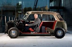 Designers: James Dyson in half a mini