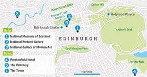 Edinburgh graphic