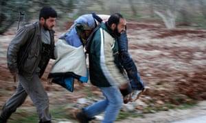 Syrian rebels in Idlib