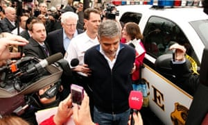 George Clooney arrested at Sudan protest