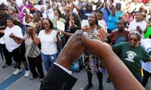 Trayvon Martin rally Florida