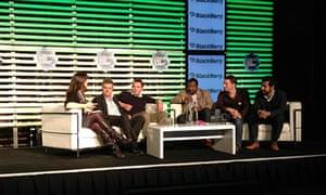 Social location panel at London Web Summit