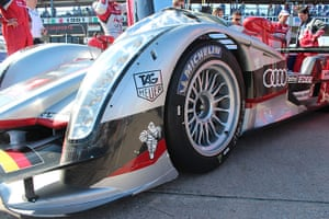 12 hours of Sebring : Audi No1 sits on pole position.