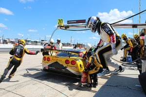 12 hours of Sebring : The Labre Competition Corvette team