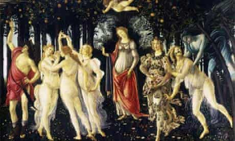 La Primavera, by Sandro Botticelli