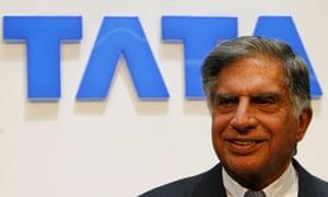 Tata Motors' chairman Rajan Tata