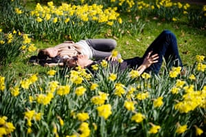 Spring: Sunshine in Green Park