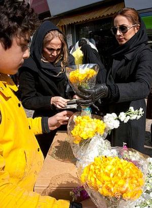 Nowruz festival shopping in Iran