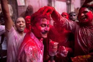 Spring: Holi festival in Delhi
