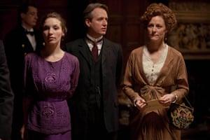 Titanic: Perdita Weeks as Georgina, Linus Roache as Hugh
