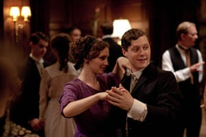 Titanic: Perdita Weeks as Georgina and Noah Reid as Harry Widener