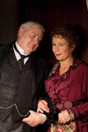 Titanic: Joseph and Grace Rushton played by Peter Wight and Celia Imrie