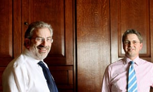 Bob Kerslake and Jeremy Heywood, joint heads of the civil service:
