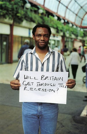 Gillian Wearing: Will Britain get through this recession?