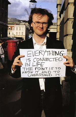 Gillian Wearing: Everything is connected in life the point is to know it and to unerstand it
