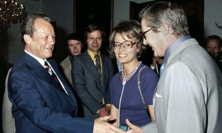 Wibke Bruhns und Willy Brandt