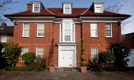 The £10m Gaddafi property in a quiet Hampstead Garden Suburb cul-de-sac