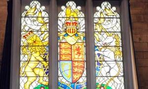 Queen's diamond jubilee stained glass window