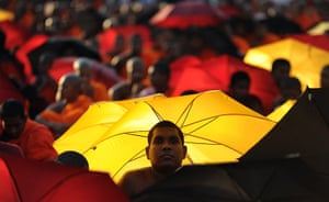 24 hours in pictures: Colombo, Sri Lanka: Buddhist monks protest a US-backed resolution