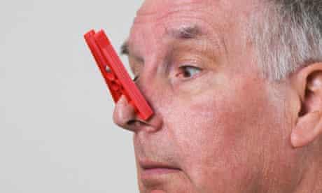 nose peg
