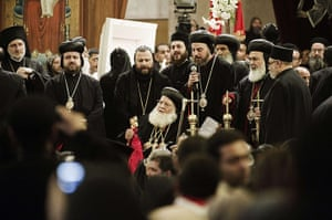 Pope Shenouda Funeral: Coptic priests offer prayers at the funeral