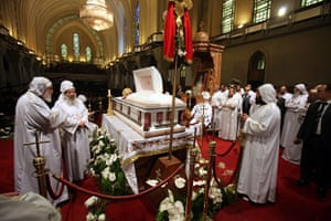 Pope Shenouda Funeral: Pope Shenouda III's funeral in Cairo