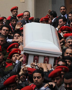 Pope Shenouda Funeral: Pope Shenouda III funeral