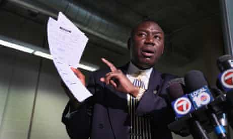 Benjamin Crump, attorney for the faily of Trayvon Martin
