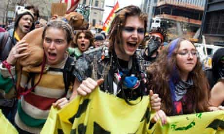 Occupy Wall Street march