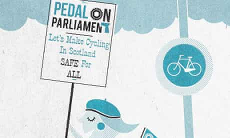 Pedal on Parliament campaign poster