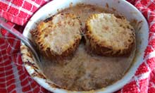 Anthony Bourdain recipe french onion soup