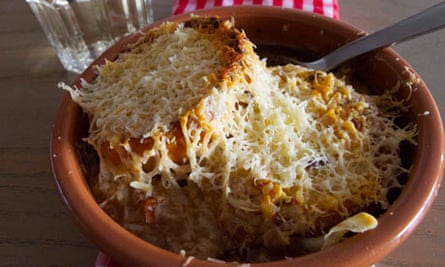 Felicity's perfect french onion soup