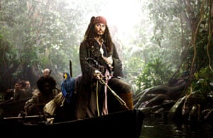Biggest opening weekends: Pirates of the Caribbean: Dead Man's Chest