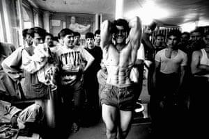 Sean Smith open weekend: body building club in Mazar-e Sharif in Afghanistan