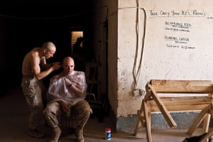Sean Smith open weekend: US Marine, Al Hywatt Combat Outpost, Al Anbar province 2007