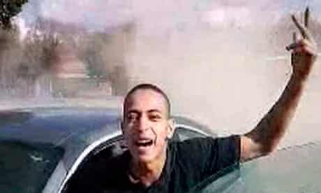 Television still believed to be of Mohamed Merah