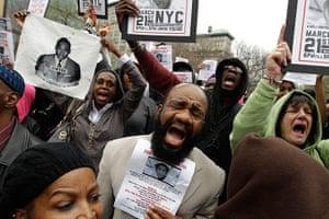 Trayvon Martin march: Demonstrators chant Trayvon Martin's name