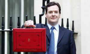 George Osborne's budget box