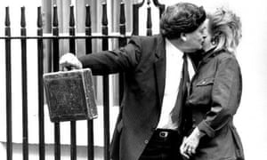 Nigel Lawson budget box