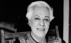 Simin Daneshvar in 1989. Her early work was published as being by 'a nameless Shirazi'