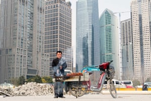 Readers' pictures: Food vendor in Shanghai, China